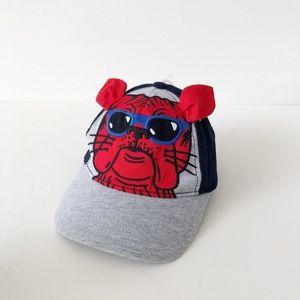 12-24M Gymboree Bulldog Baseball Hat